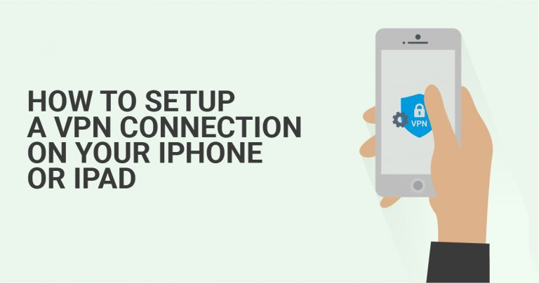 iPhone 또는 iPad에서 VPN 연결을 설정하는 방법