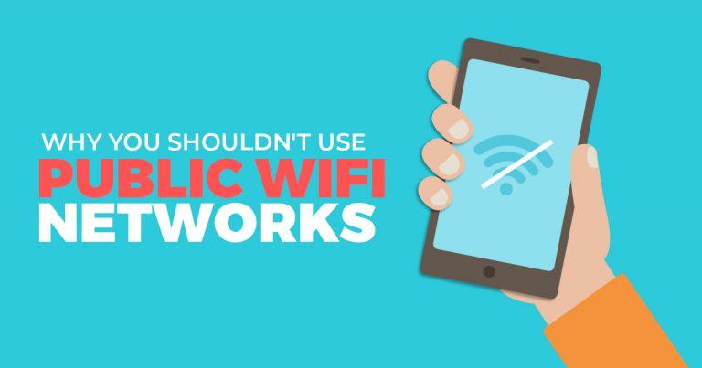 당신이 공용 WiFi 네트워크를 사용해서는 안되는 이유