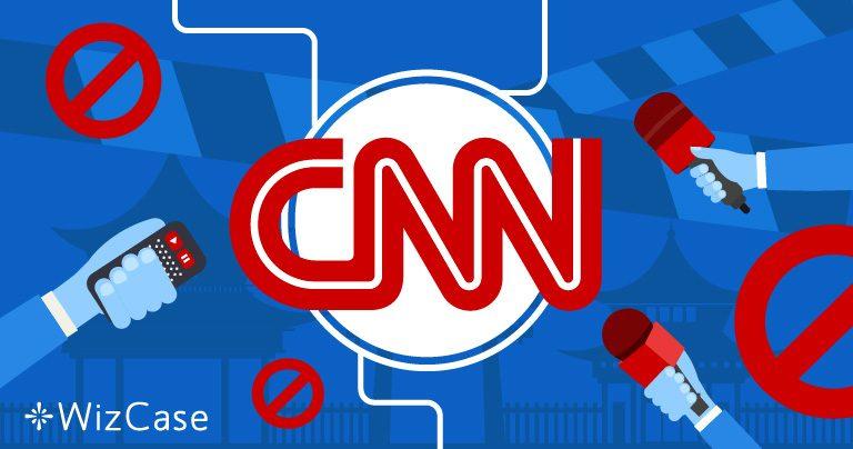 중국 정부가 차단한 CNN 채널 시청하기