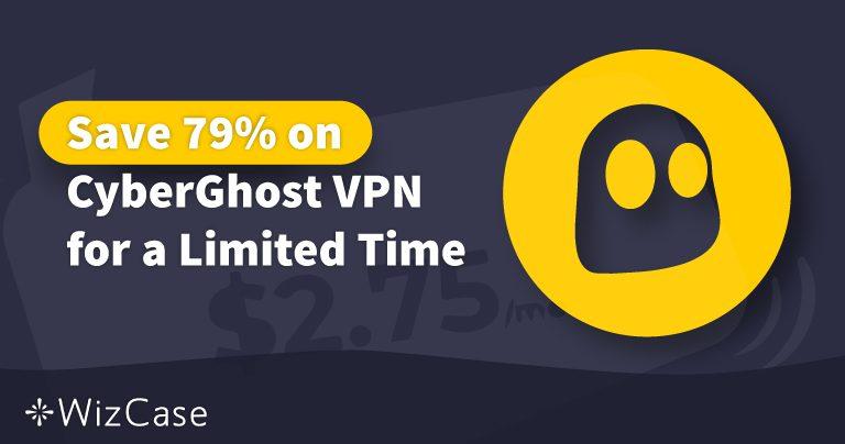2020년 유효한 CyberGhost VPN쿠폰: 오늘 최대 79%까지 절약