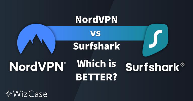 NordVPN vs. Surfshark: 13개 분야 비교 테스트, 2021년 승자