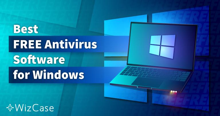 Windows용 최고의 무료 바이러스 백신 6개 (2021년 테스트)